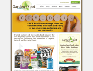 gardenspotdist.com screenshot