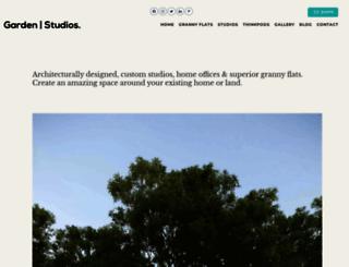 gardenstudios.com.au screenshot