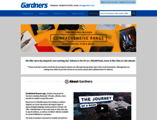 gardners.com screenshot