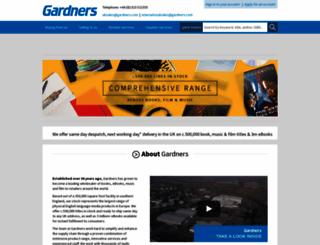 gardners.com screenshot