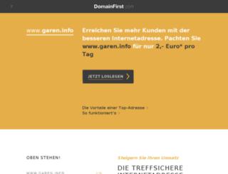 garen.info screenshot