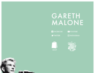 garethmalone.com screenshot