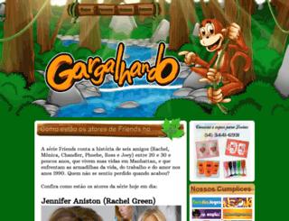 gargalhando.com screenshot