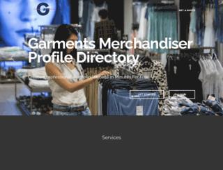 garmentsmerchandiser.com screenshot