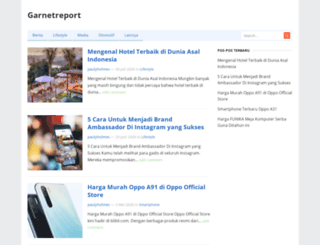 garnetreport.com screenshot