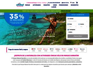 garrafon.com.mx screenshot