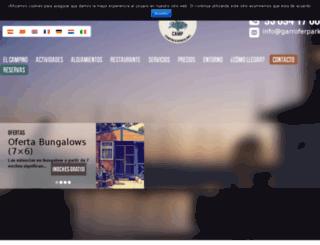 garroferpark.com screenshot