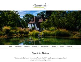 gartenart.co.uk screenshot