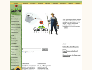 gartenatelier.de screenshot