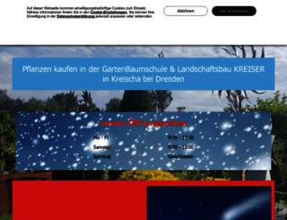 gartenbaumschule-sachsen.de screenshot
