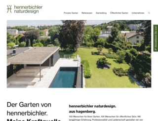 gartengestaltung-oberoesterreich.at screenshot