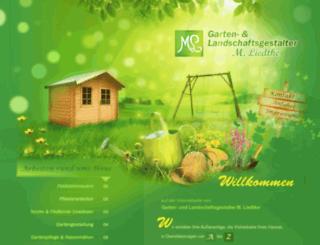 gartenpflege-liedtke.de screenshot