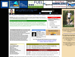 garycohenrunning.com screenshot