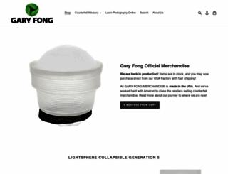 garyfong.com screenshot