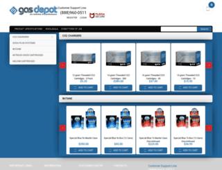 gas-depot.com screenshot