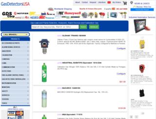 gasdetectorsusa.com screenshot