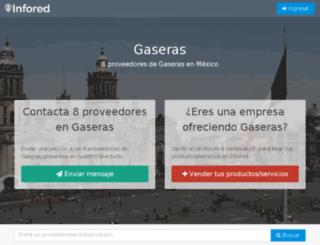 gaseras.infored.com.mx screenshot