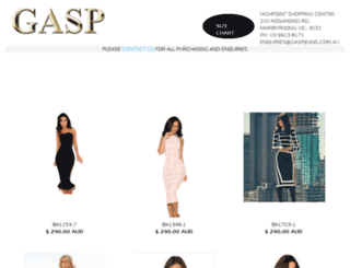 gaspjeans.com.au screenshot