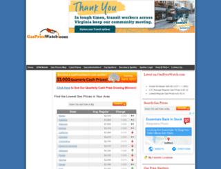 gaspricewatch.com screenshot