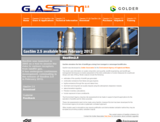 gassim.co.uk screenshot
