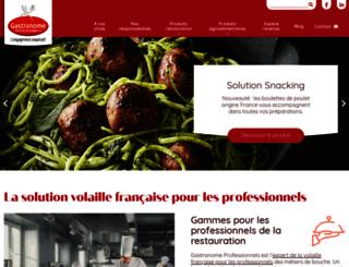 gastronome.fr screenshot