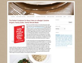 gastronomersguide.com screenshot