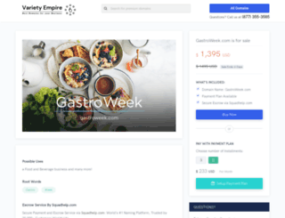 gastroweek.com screenshot