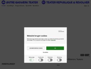 gasvaerket.dk screenshot