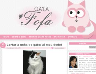 gatafofa.com.br screenshot