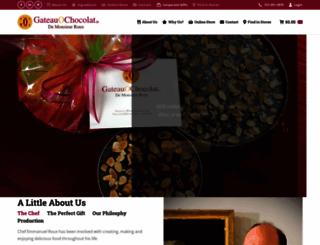 gateauochocolat.com screenshot