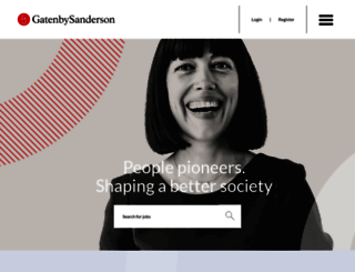 gatenbysanderson.com screenshot