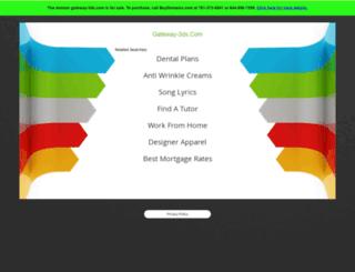 gateway-3ds.com screenshot