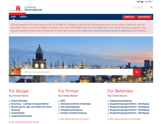 gateway.hamburg.de screenshot