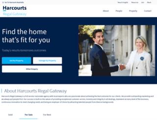 gateway.harcourts.com.au screenshot