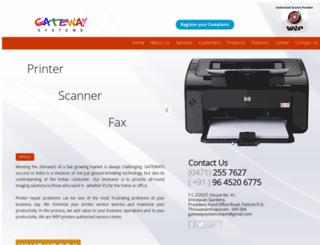 gatewaysystemstvm.com screenshot