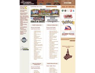 gatheringground.com screenshot
