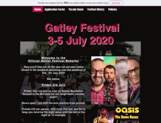 gatleyfestival.org screenshot