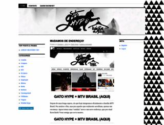 gatohype.wordpress.com screenshot