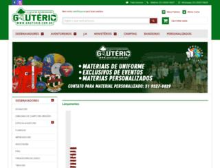 gauterio.com.br screenshot
