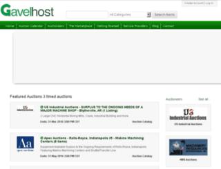 gavelhost.com screenshot