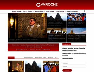 gavroche-thailande.com screenshot
