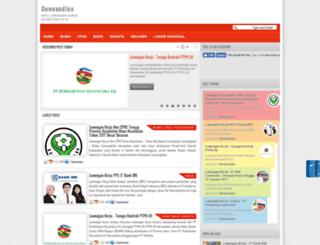 gaweandino.blogspot.com screenshot