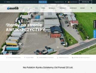 gawlik-przyczepy.pl screenshot