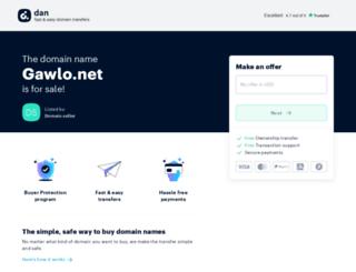 gawlo.net screenshot