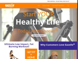 gazelleglider.com screenshot
