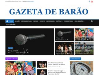 gazetadebarao.com.br screenshot