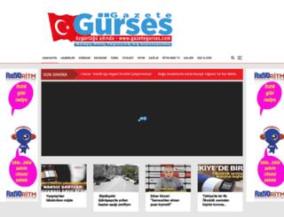 gazetegurses.com screenshot