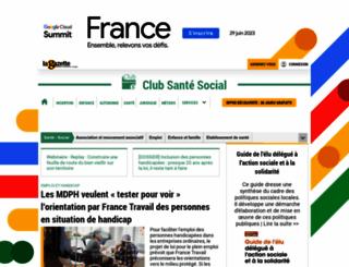 gazette-sante-social.fr screenshot