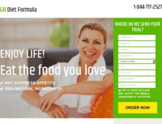 gbdietformula.com screenshot