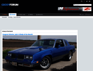 gbodyforum.com screenshot